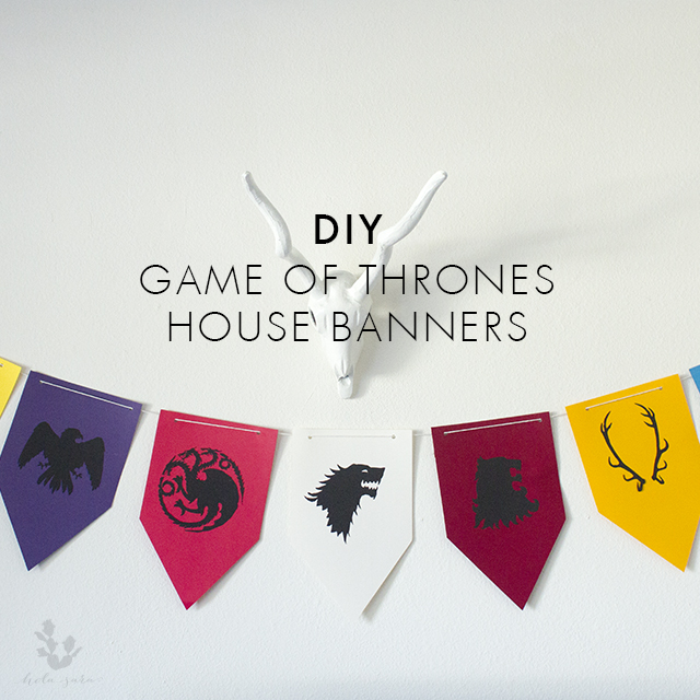 Game Of Thrones House Banners Hola Sara